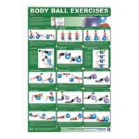 Poster Body Ball Exercises - Core