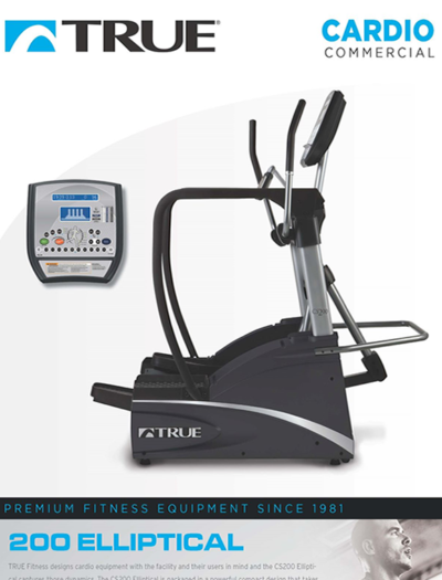 TRUE C200 Commercial Elliptical