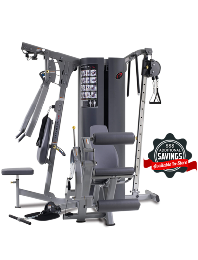 MP3.0 TRUE Paramount 3 WEIGHT STACK / 4 STATION GYM