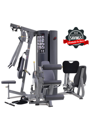 MP3.5 TRUE Paramount 3 WEIGHT STACK / 4 STATION GYM