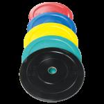 Rubber Bumper Pro Grade Plate Set