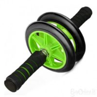 Double Wheel Ab Roller