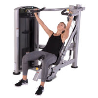 FORCE Series SD1005: Multi-Press a complete a combination of customizable exercises all on one machine with the TRUE FORCE Multi-Press: chest press, shoulder press, and incline press