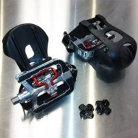 Focus Fitness SPD Upgrade Pedals for Spin Bike