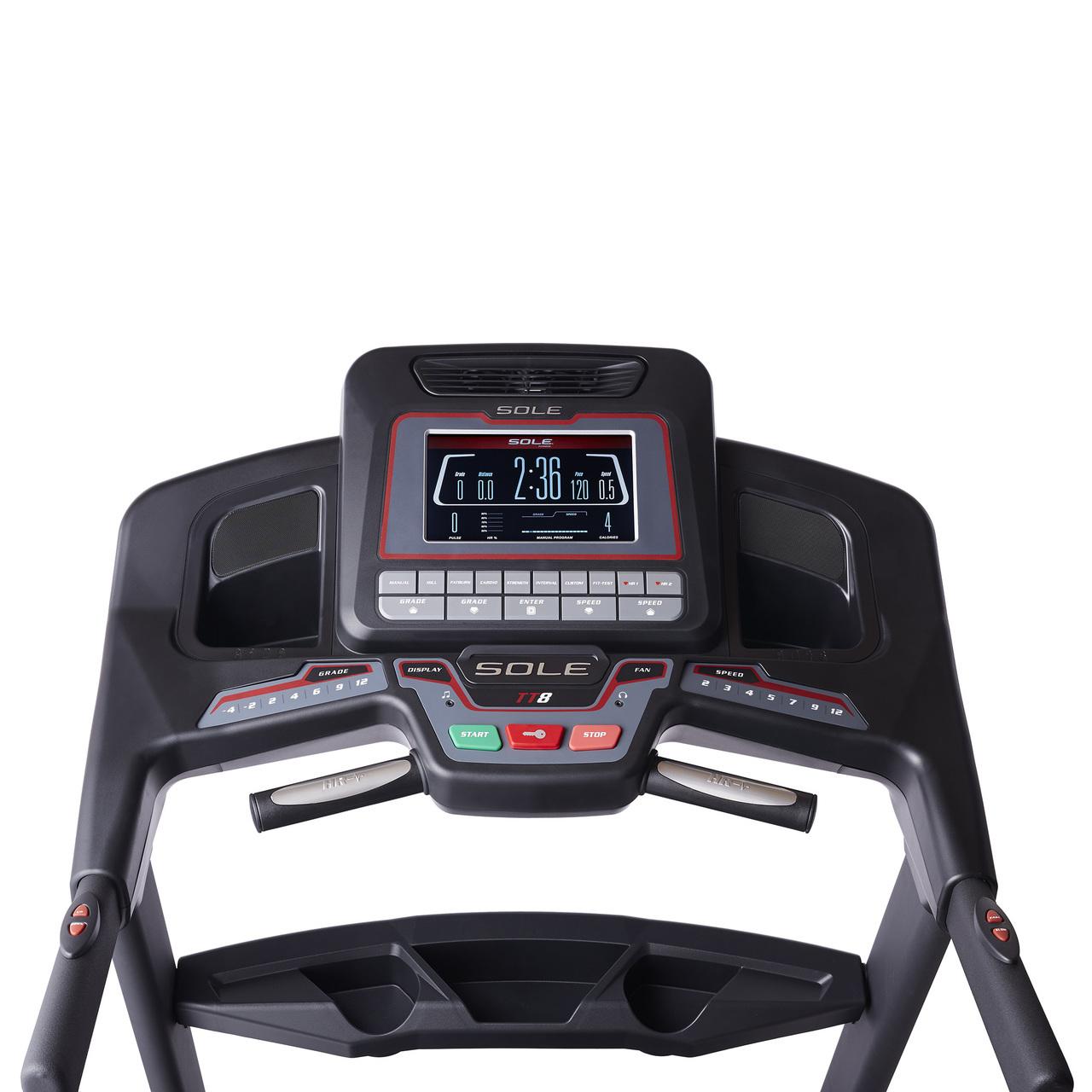 Sole Treadmill S77: Sole TT8 Treadmill -6% To 15% Incline