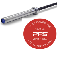 PFS Performance 7' Olympic Bar 1500 LB