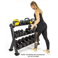F530 Dumbbell Accessory Rack 3 Tier