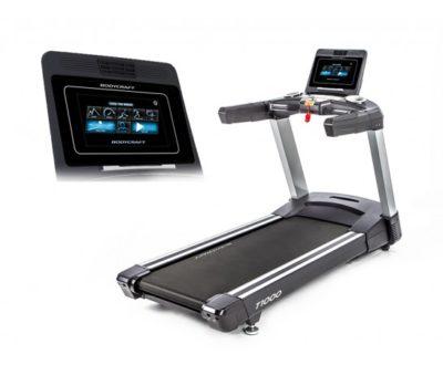 """Bodycraft T1000 10"""" Touchscreen Treadmill"""