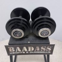 BAADASS Ajust Dumbbell 5-70lb