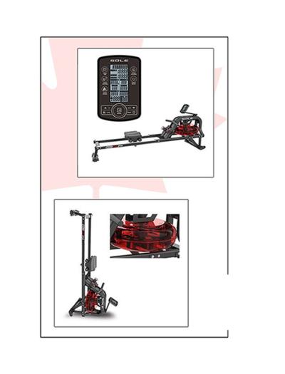 SOLE SRW250 Water Rower